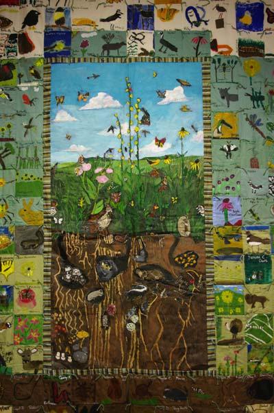Leopold Landscape Alliance :: Nature Quilt Exhibit : nature quilt - Adamdwight.com